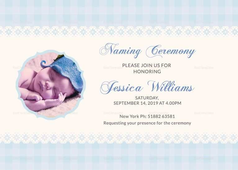 52 Visiting Invitation Card Template For Naming Ceremony Templates with Invitation Card Template For Naming Ceremony