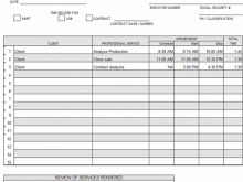 52 Visiting Time Card Templates Excel 2007 For Free for Time Card Templates Excel 2007
