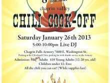 53 Adding Chili Cook Off Flyer Template Free Download for Chili Cook Off Flyer Template Free