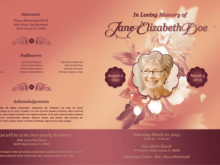 53 Best Funeral Flyer Templates For Free for Funeral Flyer Templates