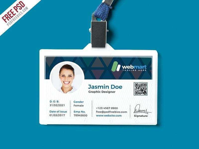53 Best Id Card Template Free Software Download For Free For Id Card Template Free Software Download Cards Design Templates