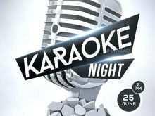 53 Blank Free Karaoke Flyer Template in Word for Free Karaoke Flyer Template