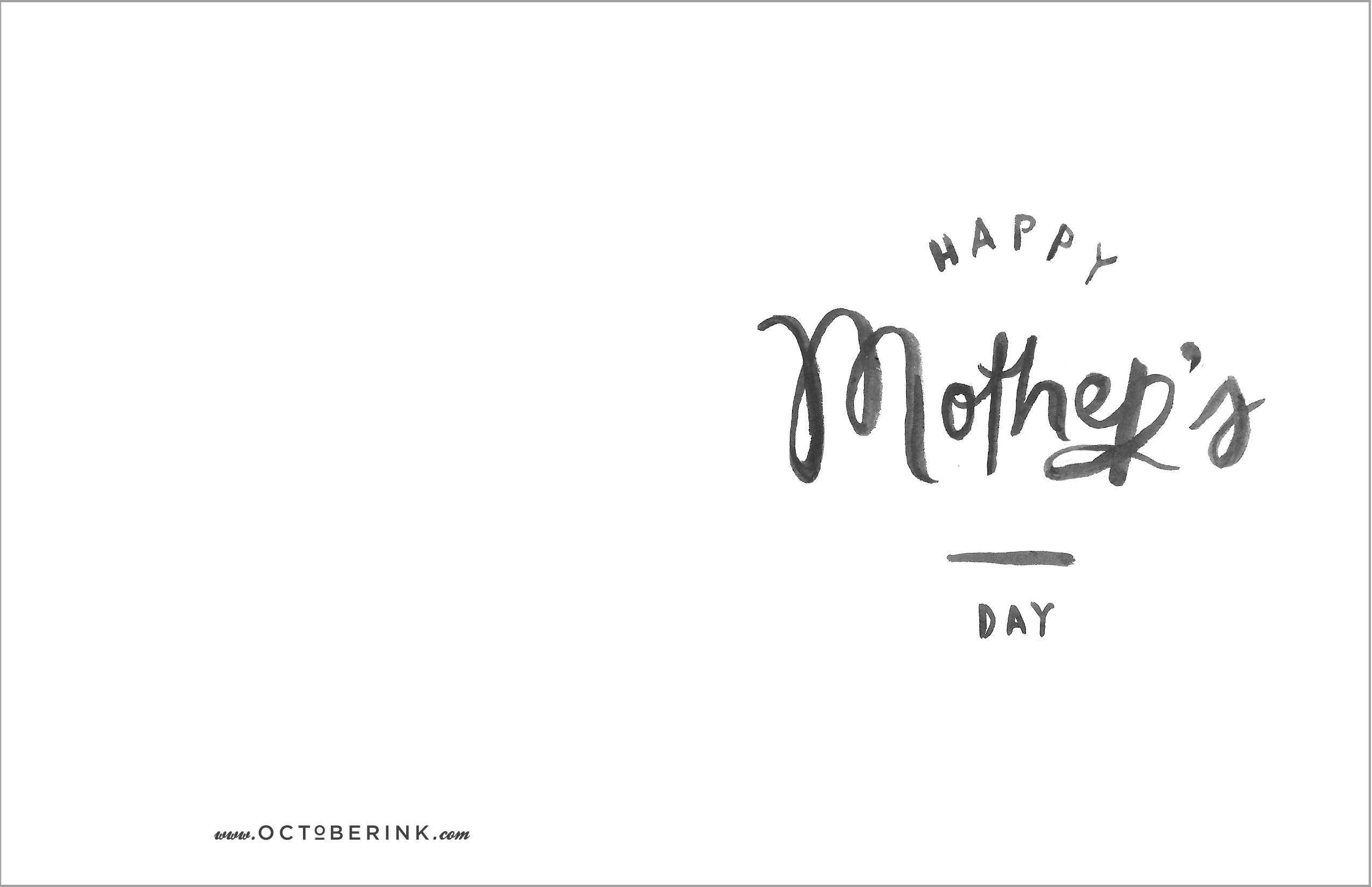 53 Blank Mother S Day Card Template Free Download For Free with Mother S Day Card Template Free Download