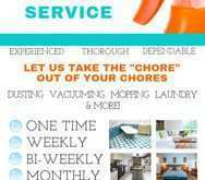 53 Cleaning Services Flyer Templates Formating by Cleaning Services Flyer Templates