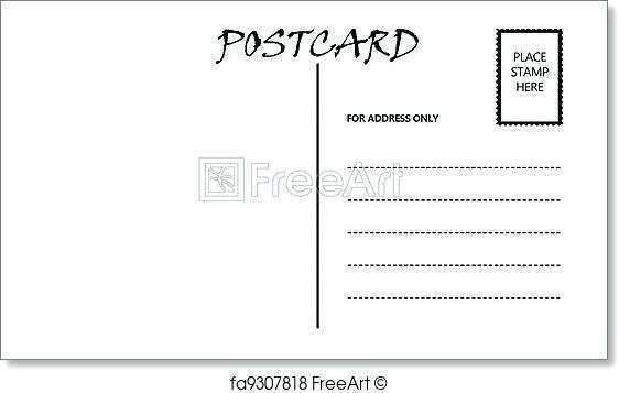 53 Create Postcard Template A4 Layouts with Postcard Template A4
