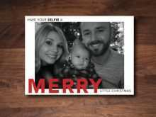 53 Creating Selfie Christmas Card Template for Ms Word for Selfie Christmas Card Template