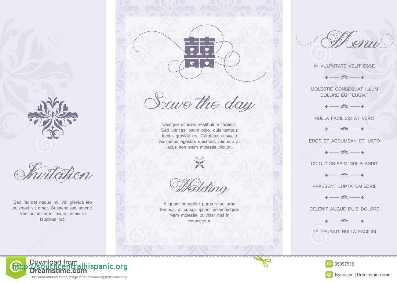 Wedding Card Templates Free Malaysia