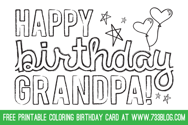 53 Customize Our Free Birthday Card Template For Grandpa Formating for Birthday Card Template For Grandpa