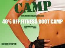 53 Customize Our Free Fitness Boot Camp Flyer Template Formating by Fitness Boot Camp Flyer Template