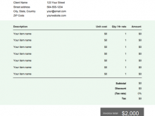 53 Customize Our Free Hotel Invoice Template Pdf Maker with Hotel Invoice Template Pdf