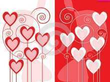 53 Heart Card Templates Online in Word for Heart Card Templates Online