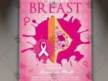 53 How To Create Breast Cancer Flyer Template For Free with Breast Cancer Flyer Template