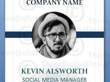 53 How To Create Employee I Card Template With Stunning Design with Employee I Card Template
