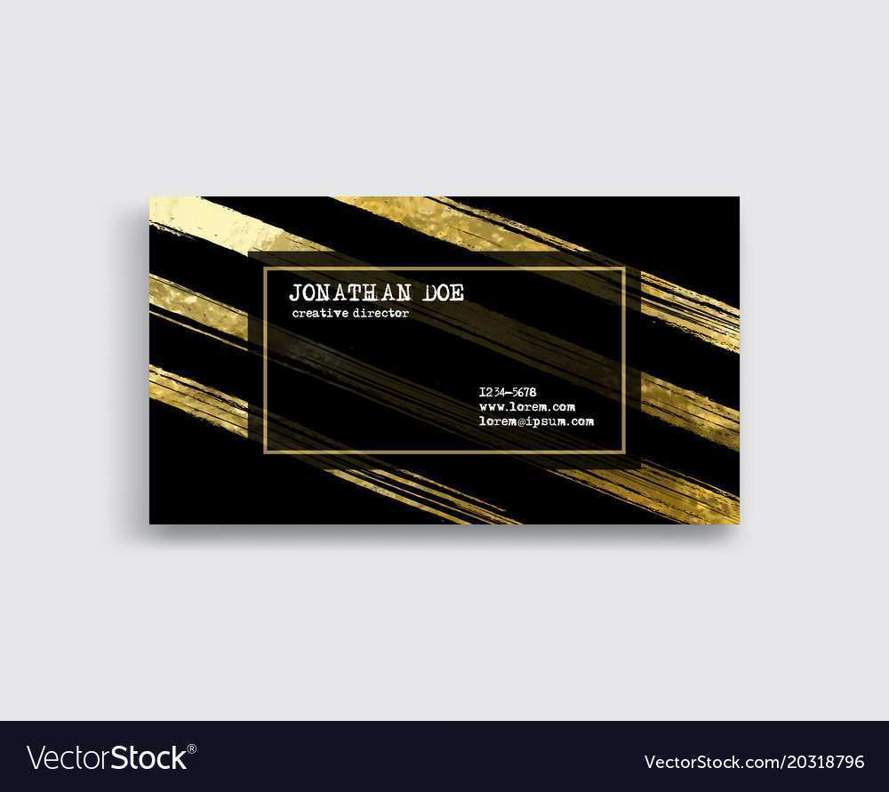 53 Online Black Business Card Template Illustrator in Word with Black Business Card Template Illustrator