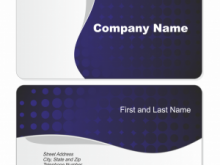 53 Printable Business Card Template For Word 2016 Templates for Business Card Template For Word 2016