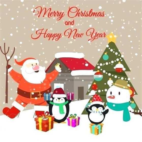 53 Printable Christmas Card Email Templates Free in Word for Christmas Card Email Templates Free