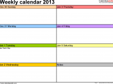 53 Printable Daily Calendar Template In Word Now for Daily Calendar Template In Word