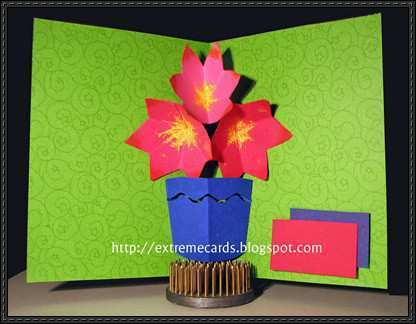 53 Report Pop Up Card Bouquet Template Maker with Pop Up Card Bouquet Template