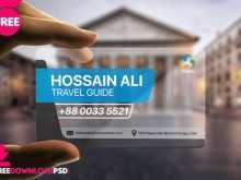 Visiting Card Design Online Free Psd
