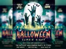 Halloween Flyer Template Free