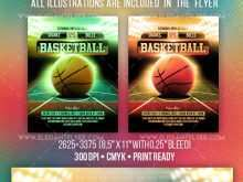 53 The Best Basketball Game Flyer Template PSD File with Basketball Game Flyer Template