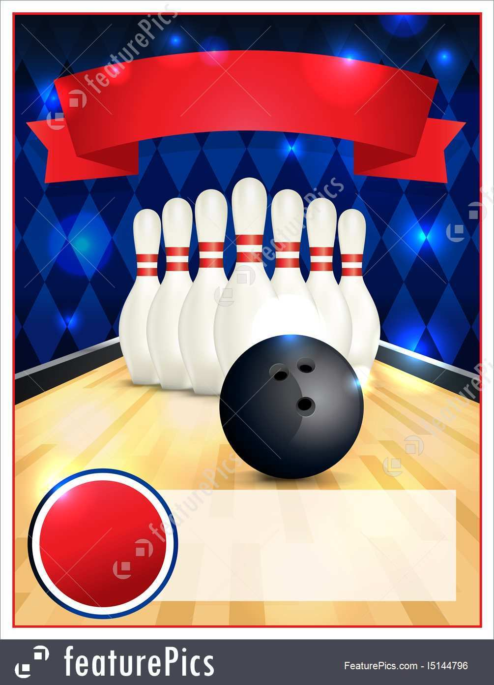53 The Best Bowling Flyer Template Word Formating with Bowling Flyer Template Word