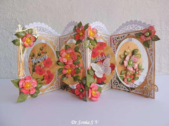 53 The Best Pop Up Flower Card Tutorial Handmade in Photoshop for Pop Up Flower Card Tutorial Handmade