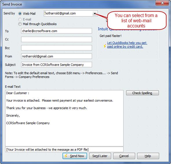53 The Best Quickbooks Edit Email Invoice Template Formating For Quickbooks Edit Email Invoice Template Cards Design Templates