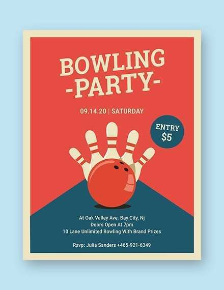 53 Visiting Bowling Flyer Template Word Download for Bowling Flyer Template Word