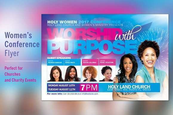 54 Adding Church Conference Flyer Template Maker for Church Conference Flyer Template