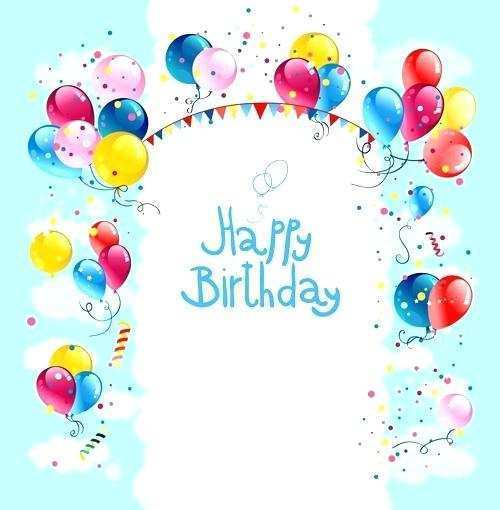 54 Blank Free Birthday Card Templates To Download Maker With Free Birthday Card Templates To Download Cards Design Templates