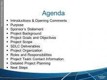 54 Blank Pmi Kick Off Meeting Agenda Template in Word by Pmi Kick Off Meeting Agenda Template