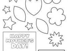 Mother'S Day Card Printable Template