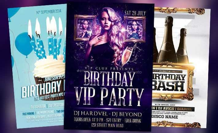 54 Customize Our Free Free Birthday Flyer Template Word for Ms Word by Free Birthday Flyer Template Word