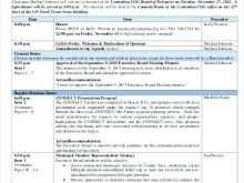 54 Free Printable Board Meeting Agenda Template Australia by Board Meeting Agenda Template Australia
