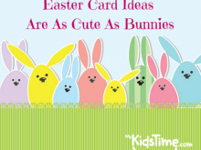 54 Free Printable Easter Card Craft Templates With Stunning Design with Easter Card Craft Templates