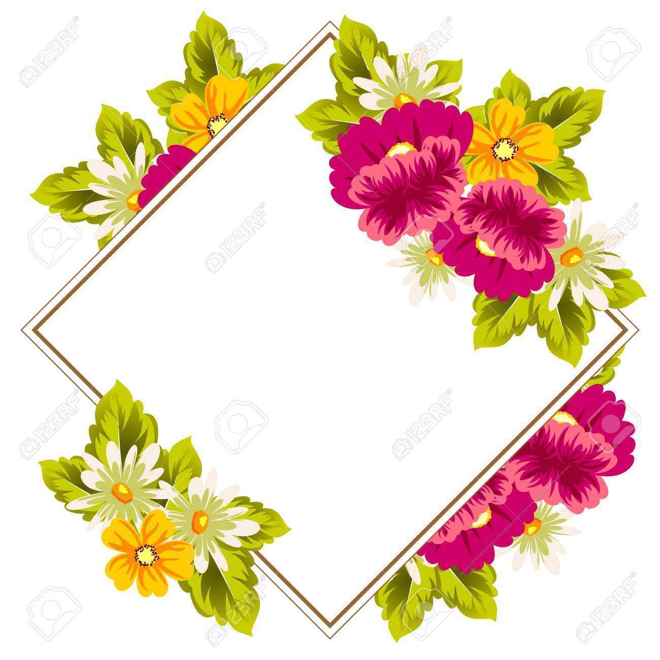 54 How To Create Flower Greeting Card Templates Photo by Flower Greeting Card Templates