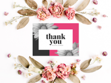 Little Thank You Card Templates