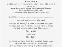 54 Invitation Card Format In Gujarati Templates for Invitation Card Format In Gujarati