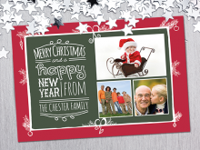 54 Online Christmas Card Templates With Photos Free PSD File by Christmas Card Templates With Photos Free