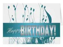 54 Printable Birthday Card Template For Employee in Word with Birthday Card Template For Employee