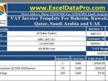 54 Printable Vat Invoice Template In Saudi Arabia Layouts with Vat Invoice Template In Saudi Arabia