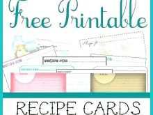 54 Recipe Card Template For Word 4X6 in Photoshop with Recipe Card Template For Word 4X6