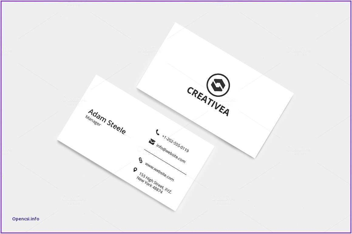 54 Standard Business Card Template For Ai Now for Business Card Template For Ai