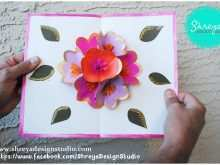 54 The Best 3D Flower Pop Up Card Tutorial Step By Step Maker with 3D Flower Pop Up Card Tutorial Step By Step