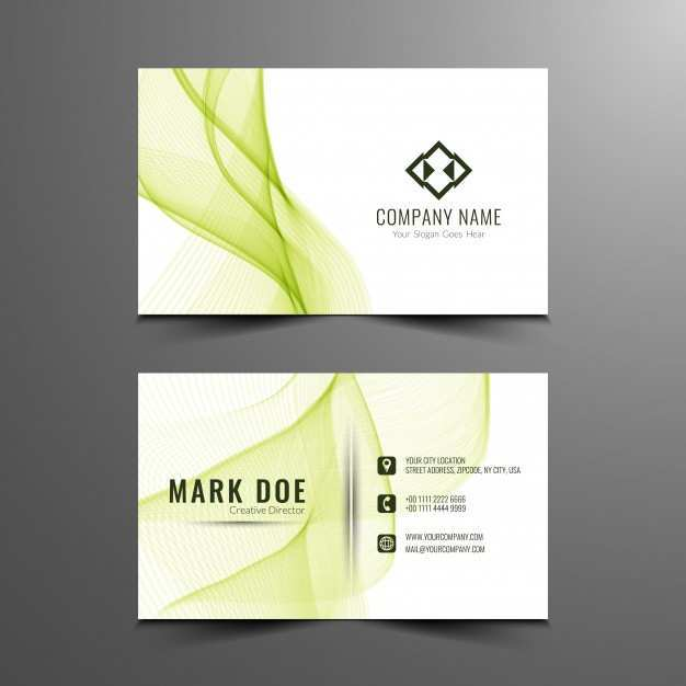 54 The Best Business Card Template Green Free Download Now for Business Card Template Green Free Download