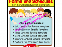 54 Visiting Autism Class Schedule Template Templates for Autism Class Schedule Template