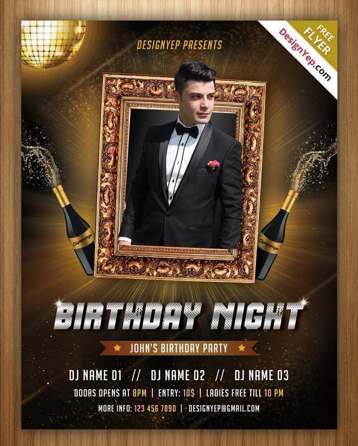 54 Visiting Birthday Party Invitation Flyer Template in Word with Birthday Party Invitation Flyer Template