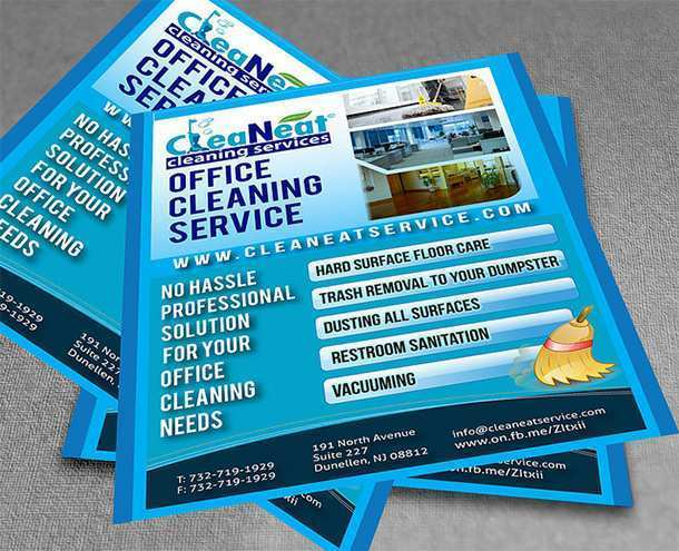 54 Visiting Commercial Cleaning Flyer Templates Psd File By
