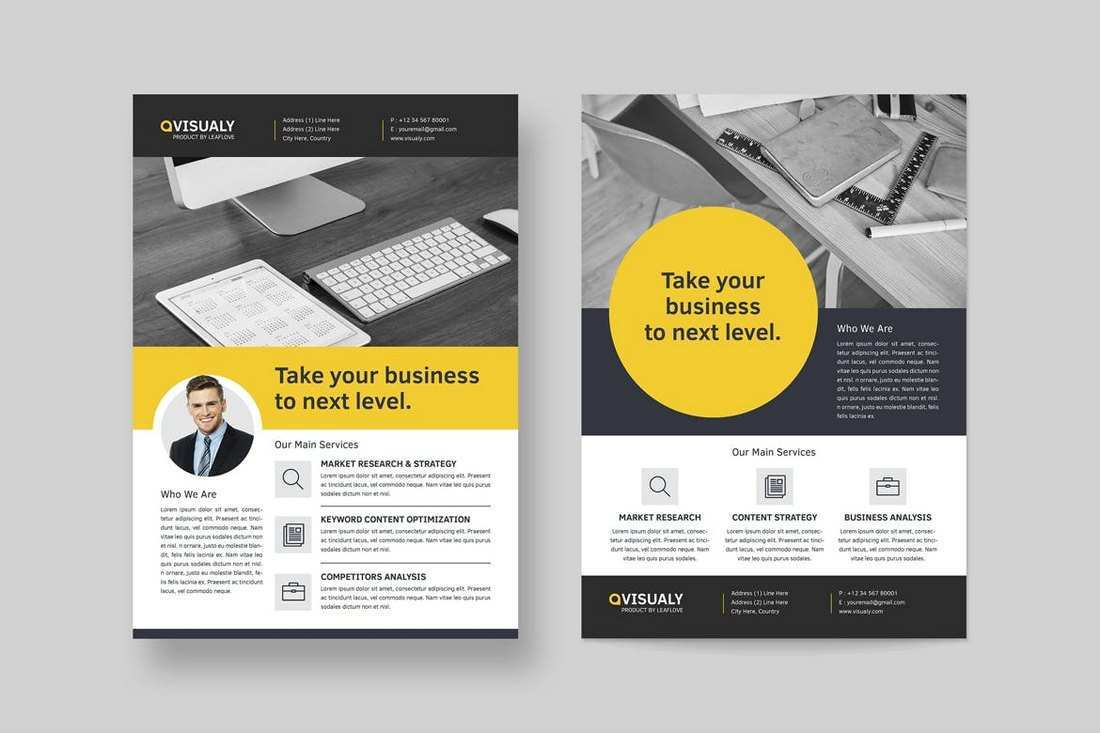 54 Visiting Company Flyers Templates in Photoshop by Company Flyers Templates